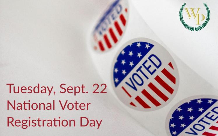 """Image with """"I Voted"""" sticker"""
